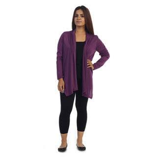 Ella Samani Women's Plus Size Open Front Cardigan|https://ak1.ostkcdn.com/images/products/10610948/P17682258.jpg?impolicy=medium