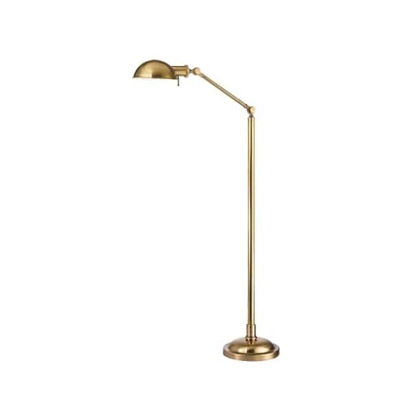 vintage brass floor lamp 1940's hudson valley girard 1light vintage brass floor lamp shop free