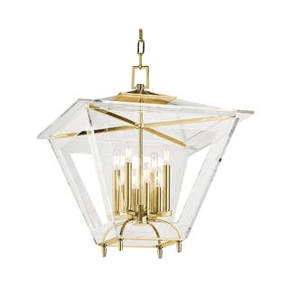 Clearance Hudson Valley Andover 8 Light Pendant