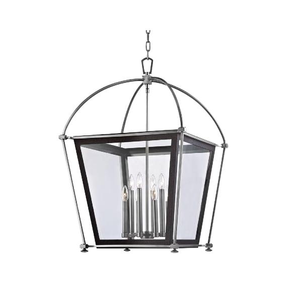 Shop Hudson Valley Hollis 8-light Polished Pendant