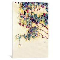 iCanvas Sun Tree by Egon Schiele Canvas Print