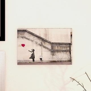 iCanvas There Is Always Hope Balloon Girl by Banksy Canvas Print