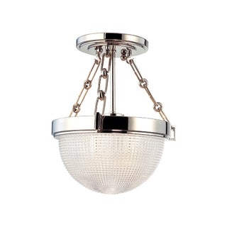 Hudson Valley Winfield 1-light Semi Flush