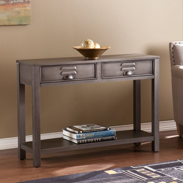 Shop Harper Blvd Rayner Metal Sofa Console Table Free