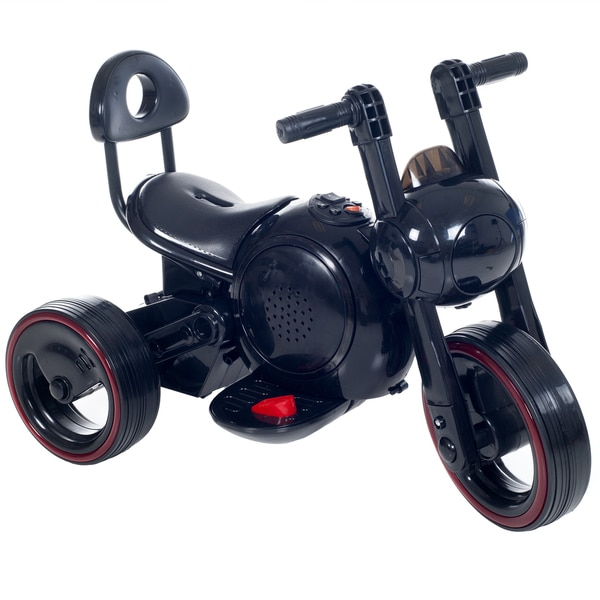 Ride on Toy, 3 Wheel LED Mini Motorcycle  for Kids by Lil' Rider – Battery Powered Toys for Boys & Girls Toddler