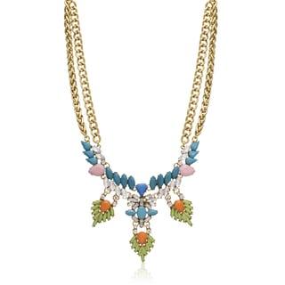 Passiana Turquoise Wreath Bib Necklace