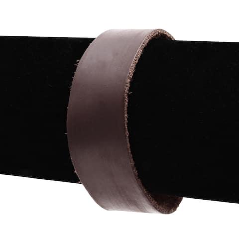 Adoriana Brown Vegan Leather Cuff Bracelet