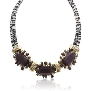 Adoriana Crystal Dusk Tribal Necklace