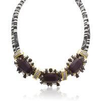 Passiana Crystal Dusk Tribal Necklace