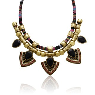Adoriana Tribal Pear Necklace