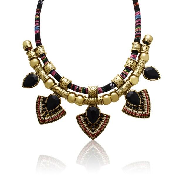Passiana Tribal Pear Necklace