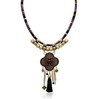 Adoriana Tribal Tassel Necklace