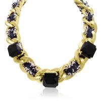 Passiana Black Fringe Necklace