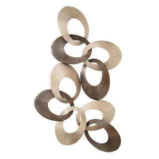 Abstract Ring Wall Sculpture