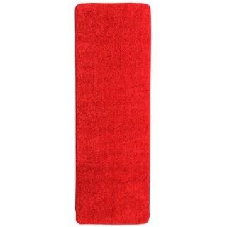 Ottomanson Ottomanson Luxury Collection Solid Shaggy Runner Rug (2' x 6')