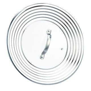 Cook N Home 8 to 12-inch Stainless Steel Universal Lid