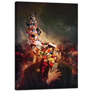 "Cortesi Home Mario Sanchez Nevado ""Comfortably Numb"" Giclee Canvas Wall Art"