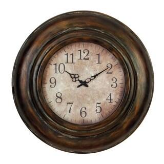 24-inch Old World Wall Clock - Thumbnail 0