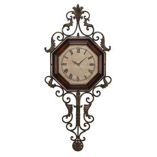 Gracewood Hollow Tantaquidgeon Pendulum Wall Clock