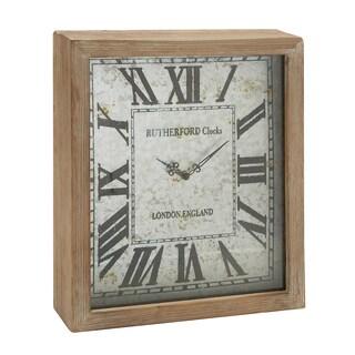 Raw Oak Wall Clock - Thumbnail 0