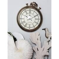 Stopwatch Wall Clock