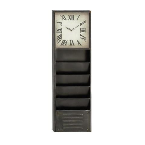 The Gray Barn Jartop Storage Wall Clock