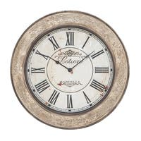 The Gray Barn Jartop Vintage French Wall Clock