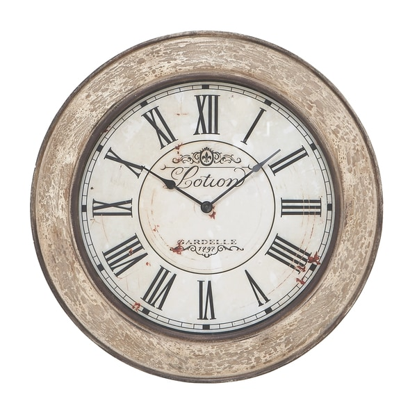 24-inch Vintage French Wall Clock