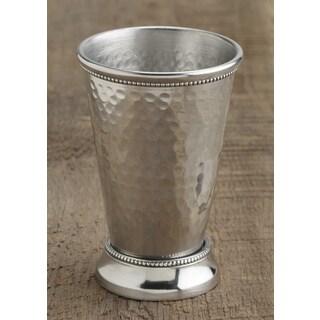 Hammered Aluminum Vase