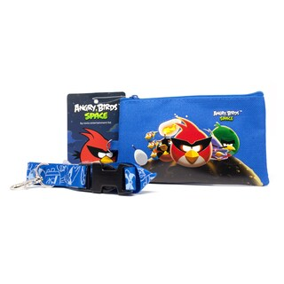 Angry Birds Space Lanyard with Detachable Coin Pouch