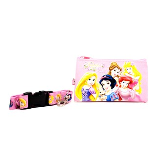 Princess Lanyard with Detachable Coin Pouch and Clear Opening for ID or Cell Phone Holder