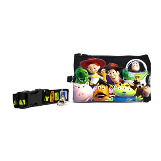 Toy Story Lanyard with Detachable Coin Pouch and Clear Opening for ID or Cell Phone Holder