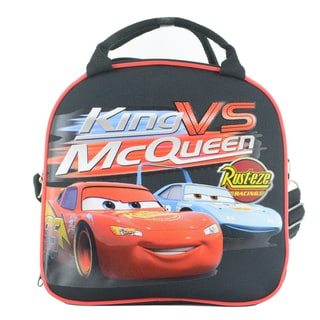Lightning McQueen Insulated Lunch Bag with Adjustable Shoulder Strap & Water Bottle