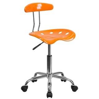 Flash Furniture Plastic Task Chair|https://ak1.ostkcdn.com/images/products/10611463/P17682730.jpg?impolicy=medium