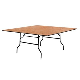 Flash Furniture 72-inch Square Wood Folding Banquet Table