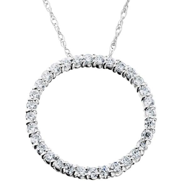 Circle Of Life Pendant 14k white gold 12ct tdw circle of life diamond pendant free 14k white gold 12ct tdw circle of life diamond pendant audiocablefo