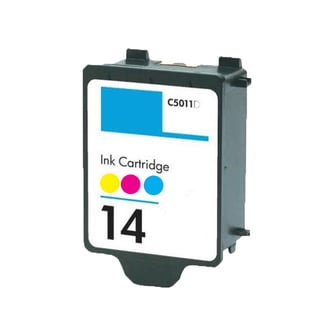 1 PK C5011AN HP 14 Color Compatible Ink Cartridge For HP ImageClass CP1160 Officejet D135 D155 Copier 610 (pack of 1)