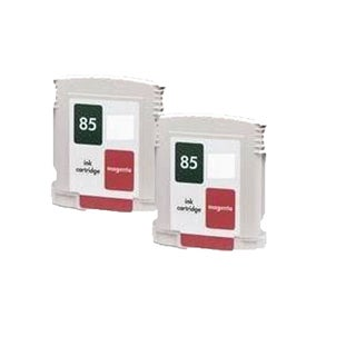 2PK C9426A ( HP 85 ) Magenta Compatible Inkjet Cartridge For HP 30 130 ( Pack of 2 )