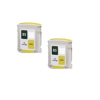 2PK C9427A ( HP 85 ) Yellow Compatible Ink Cartridge For HP 30 130 ( Pack of 2 )