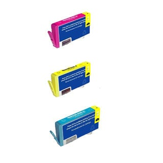 3PK 920XL C M Y ( CD972AN - CD974AN ) Compatible Ink Cartridge For HP Officejet 6000 ( Pack of 3 )