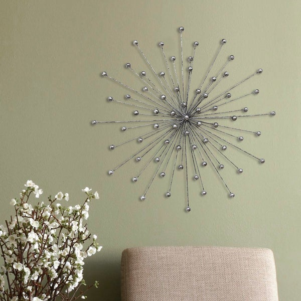 Stratton Home Burst Metal Wall Decor Free Shipping On