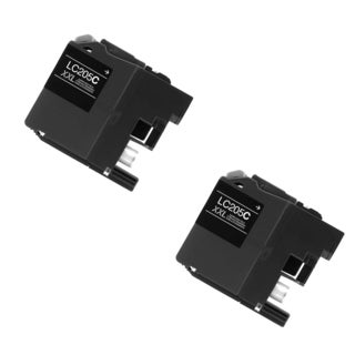 2 PK LC205 C XXL Compatible Ink Cartridge For Brother DCP-J4120DW MFC-J4420DW ( Pack of 2 )