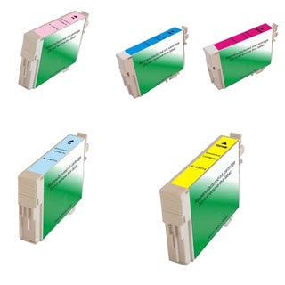 5PK T0772 T0773 T0774 T0775 T0776 Compatible Ink Cartridge For Epson RX595 RX680 ( Pack of 5 )
