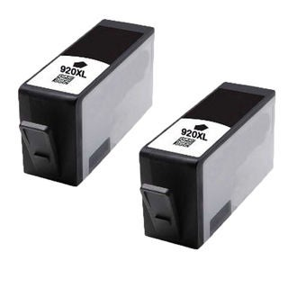 2PK 920 XL BK ( CC653AN ) Compatible Ink Cartridge For HP Officejet 6000 ( Pack of 2 )