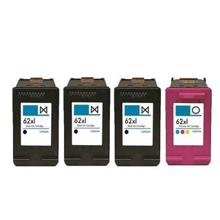 4PK 3 X C2P05AN (HP 62XL) + C2P07AN (HP 62XL) Compatible Ink Cartridge For HP DeskJet 1000 - J110a (Pack of 4)
