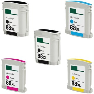 5PK C9396AN/C9385AN C9391AN/9386AN C9392AN/C9387AN C9393AN/C9388AN Compatible Ink Cartridge For HP Officejet K550 ( Pack of 5 )