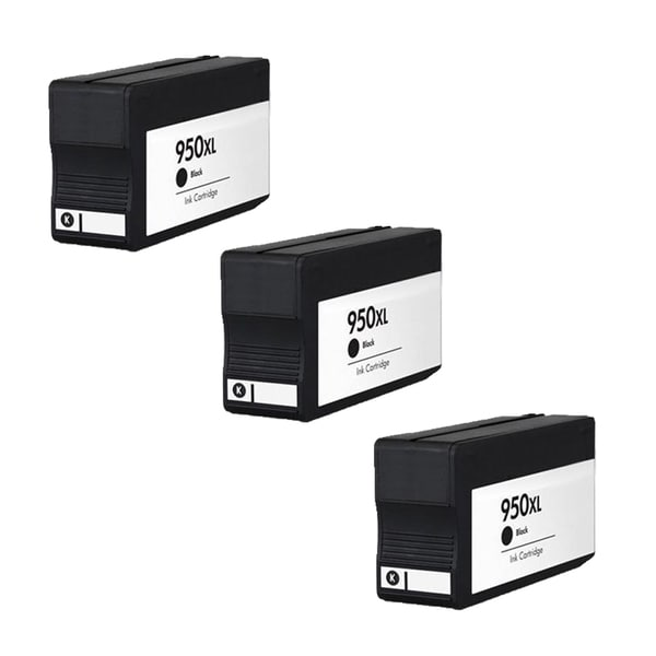 3PK 950 XL BK CN045AN Compatible Ink Cartridge For HP OfficeJet Pro 8100 ( Pack of 3 )