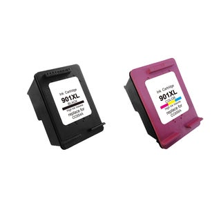 2PK 901XL BK (CC654AN) 901 XLCMY (CC656AN) Compatible Ink Cartridge For HP J4500 J4540 J4550 ( Pack of 2 )