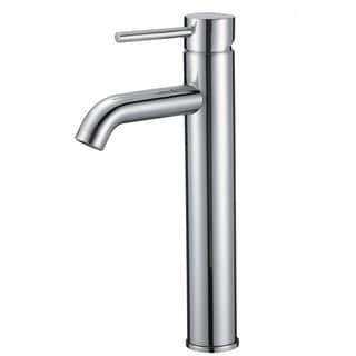 Upscale Designs Lead-Free, 12.2-inch Single Hole Sink Faucet in Polished Chrome