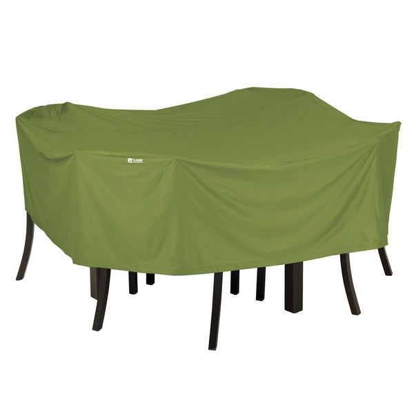 Classic Accessories Sodo Square Herb Patio Table and Chair Set Cover Free S